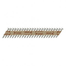 Timco Paslode PPN35Ci Nails & Fuel Cells Trade Pack - Twist Shank - Electro Galvanised - 3.4 x 35/2CFC - Box of  2500