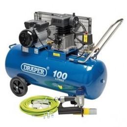 Compressor and Air Nailer Kit