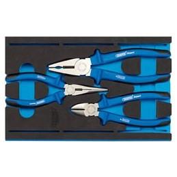 Heavy Duty Plier Set in 1/4 Drawer EVA Insert Tray (3 Piece)