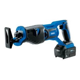 D20 20V Brushless Reciprocating Saw with 1x 3Ah Battery and Fast Charger