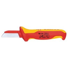 Knipex 98 54 180mm Fully Insulated Cable Knife