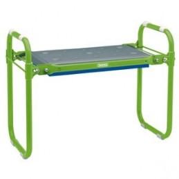 Folding Metal Framed Gardening Seat or Kneeler